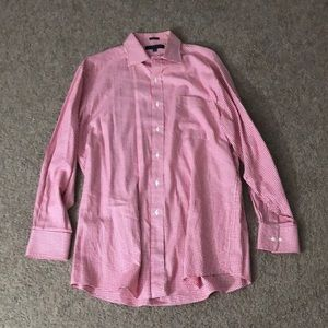 Tommy Hilfiger Red & White Long Sleeve Shirt